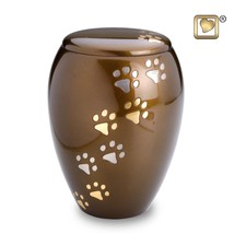 Majestic Paws Large Pet Funeral Cremation Urn, 120 Cubic Inches - $103.50
