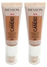 Lot of 2, Revlon PhotoReady Candid Anti-Pollution Foundation 500 Almond - $9.24