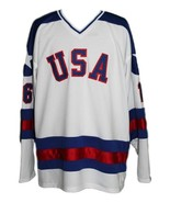 Mark Pavelich #16 Team USA Miracle On Ice Hockey Jersey New White Any Size - $54.99+