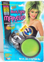 Black Light Activated Neon Green Make Up Water Washable Club Dance Scene - $6.99