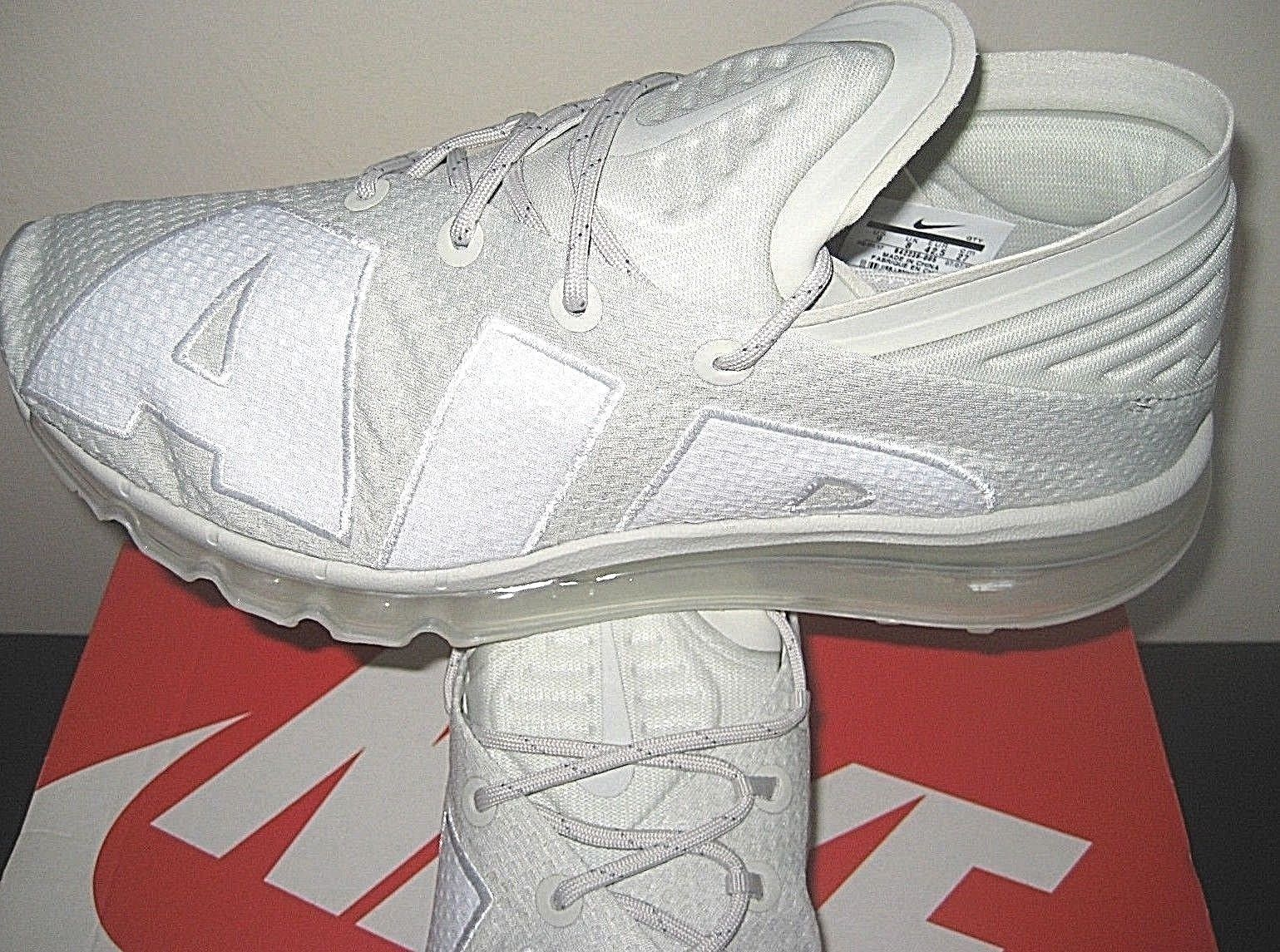 the latest 4559e af03a Nike Mens Air Max Flair Running Shoes Light Bone White Cool Grey Size 9 New