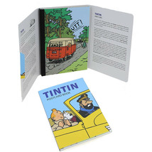 Tintin and cars set of 16 postcards booklet set image 2