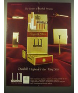 1965 Dunhill Cigarettes Advertisement - The House of Dunhill - $14.99