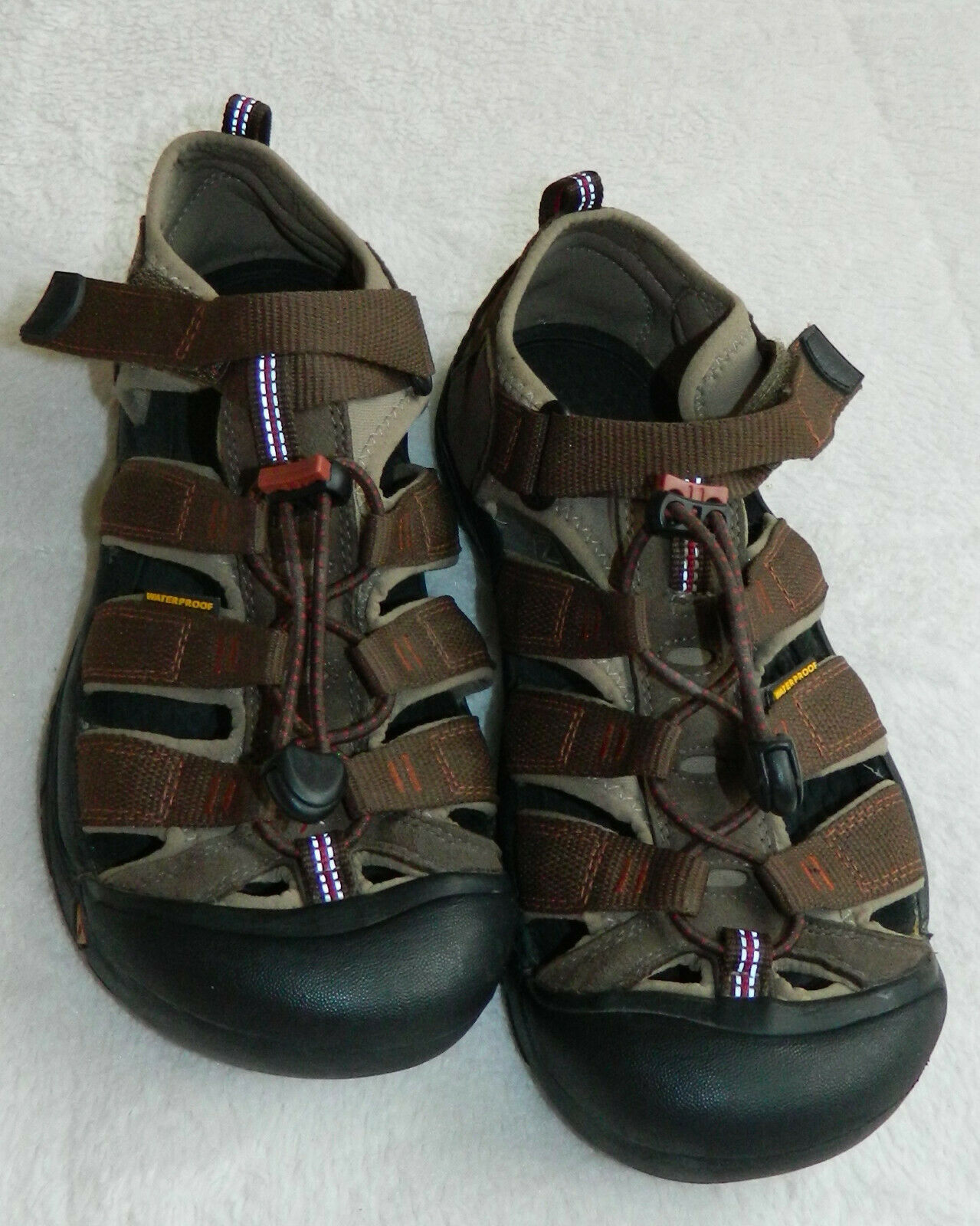 Lk Nw! Keen Newport Sandals Sport Waterproof Womens 6 Brown Hiking Outdoors