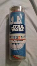 Disney Star Wars 11 Feet Flag Banner Featuring 11 Flags - New See Descri... - $5.03