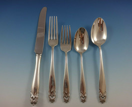 King Christian by Wallace Sterling Silver Flatware Set For 12 Service 67 Pieces - $3,200.00