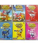 Kids Animation Cartoon DVD Super Wings Episode 1-53 English Audio Free S... - $49.90