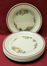"""Set Of Eight (8) Corning Corelle China- Abundance Pattern - 8.5"""" Luncheon Plates - $79.95"""