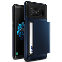 For Samsung Galaxy Note 8 Case VRS® [Damda Glide] Shockproof Wallet Card... - $15.99