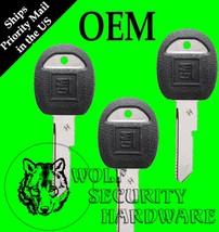 "Lot of 3 VATS Companion OEM GM Door Trunk ""H"" Key Blank Black Plastic 595198 - $16.96"