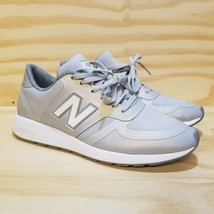 New Balance Womens WRL420 Sneakers Grey Shoe Size 8 White Laces - $22.76