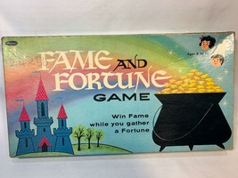 Vintage Fame and Fortune Board Game Whitman 1961 - $12.00