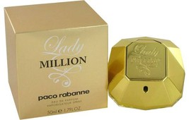 Lady Million Perfume by Paco Rabanne 2.7 oz Eau De Parfum Spray - $75.99