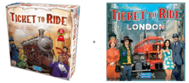Ticket to Ride: London and USA bundle - Board Game - New  - $54.45