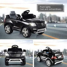 Black 6V Rc Car Ride On Toy With MP3 Mercedes Benz ML350 Kids Children Gift - $199.99