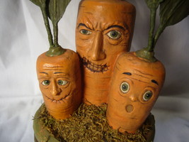 Bethany Lowe Creepy Carrot Halloween Display Decoration no. TD9058 image 3