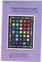 Starry, Starry Night Quilt Pattern  - $4.99