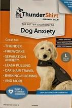 ThunderShirt Insanely Calm Dog Anxiety Treatment Shirt Jacket Solid Gray... - $36.85 CAD