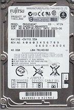 MHS2040AT, PN CA06272, Fujitsu 40GB IDE 2.5 Hard Drive