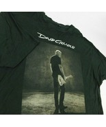 David Gilmour Sepia Photo Rattle That Lock Tour 2016 Black T Shirt Sz 3XL - $19.99