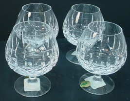 4 Waterford Fine Crystal Mourne Brandy Glasses - $247.50