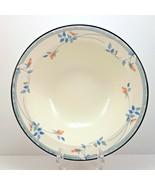 "Noritake Eastfair Vegetable Serving Bowl 9"" Blue and Pink Floral Keltcra... - $48.51"