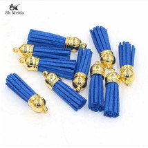 15pcs/lot 38mm Suede Tassel For Keychain Cellphone Straps Jewelry Charms... - $32.00
