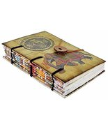 Special Binding Handmade Journal Old Account Notebook with Elephant Diar... - $25.48