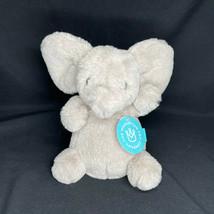 "Petit Pomme Elephant Lovey Lovie Manhattan Toy Company Gray 8"" NWT - $21.84"