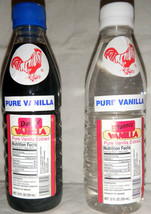 2 X Danncy Pure Mexican Vanilla Extract 12oz Each Plastic Bottles Sealed Mexico - $16.00