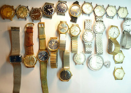 Vintage 1970'S Timex Windup Watches And Pocket Watch For Restoration Some Run - $495.00