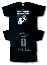 ALICE COOPER - 12TH ANNUAL CHRISTMAS PUDDING CONCERT TOUR T-SHIRT *NEW* ... - $22.80