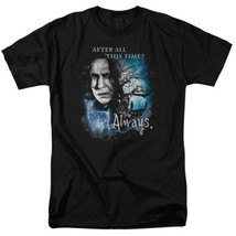 Harry Potter Movies Snape Image After All This Time? Always T-Shirt NEW ... - $19.34+