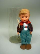 "11 1/2"" Vinyl Hummel Boy Doll by Goebel - All Original With Hang Tag - $41.76"
