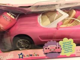 Barbie Hot Pink GM Corvette Mattel Doll Car Radio Remote Control Vehicle... - $123.74