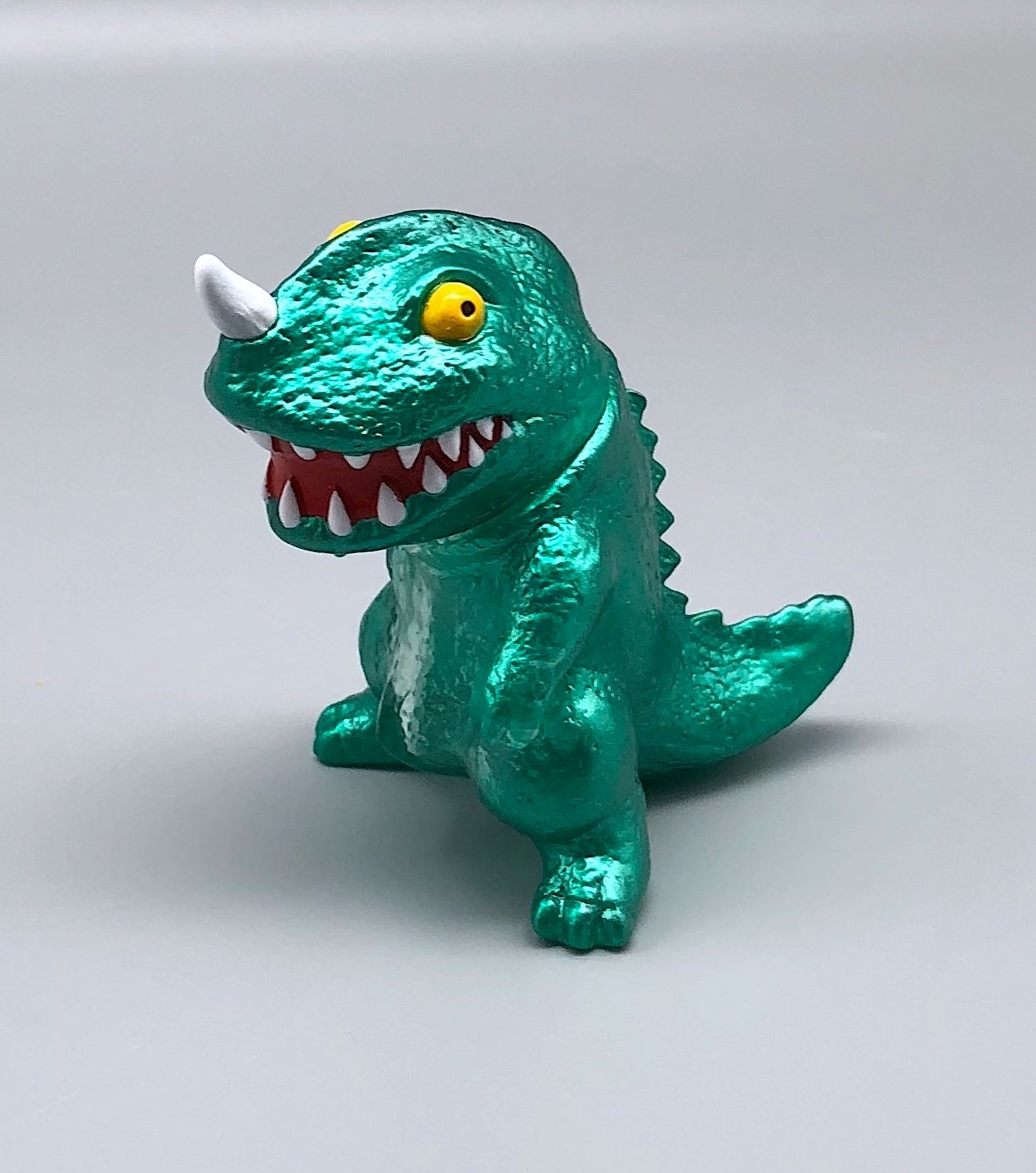 Max Toy Mini Green Metallic Dino Saikobi
