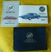 1994 Buick Regal Owner's Manual w/Vinyl Cover Great Condition - $12.86