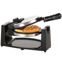 Belgian Waffle Maker Commercial Double Waring Breakfast Iron Kitchen Heavy - $50.88 CAD