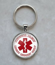 Right Kidney Only Medical Alert Keychain - $14.00+