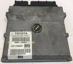 2009 2010 Toyota Corolla 1.8L A/T ECM ECU Engine Control Module | 89661-02M92 - $85.05