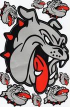 D004 Bulldog dog Sticker Decal Racing Tuning Size 27x18 cm / 10x7 inch - $3.49