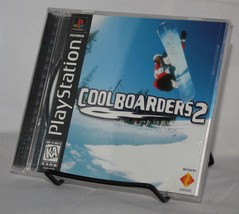 Cool Boarders 2 PS1 Complete CIB Sony PlayStation 1997 Snowboarding - $9.74
