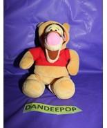 "Walt Disney Store And Parks Mini Bean Bag Winnie The Pooh Tigger As Pooh 8"" - $11.87"