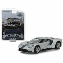 Greenlight 1:64 Diecast Model Car - 2017 Ford GT Ingot Silver (Hobby Exc... - $15.35