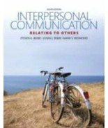 Interpersonal Communication: Relating to Others 8th Edition - $74.69