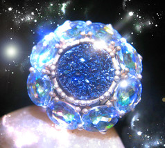 HAUNTED RING THE QUEEN WITCH'S MASTER AURA TRANSFORMAITON POWERS MAGICK POWER  - $8,977.77