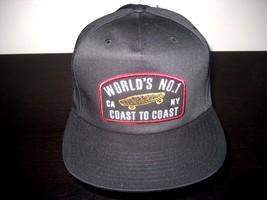 Vans Shoes Doil Unstructured OTW Coast To Coast cap hat Black NWT Free Ship - $19.78
