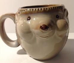 Gibson 3 D Hedgehog Coffee Mug Cup - $12.87