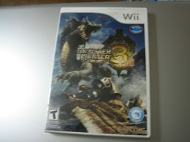 Monster Hunter Tri (Nintendo Wii, 2010) - $6.92
