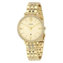 Fossil Jacqueline Champagne Dial Gold-tone Ladies Watch ES3547 - $187.68